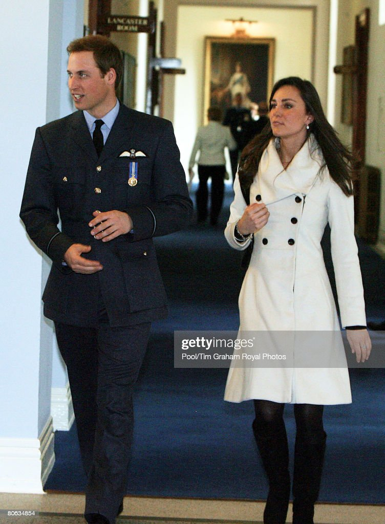 Prince William Receives RAF Wings At Graduation Ceremony : News Photo