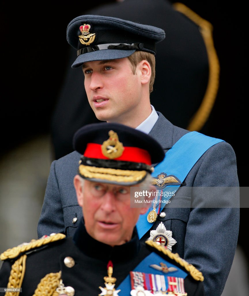 HRH Prince William and HRH Prince Charles, The Prince of Wales attend a service of commemoration to mark the end of combat operations in Iraq at St Paul's Cathedral on October 9, 2009 in London, England.