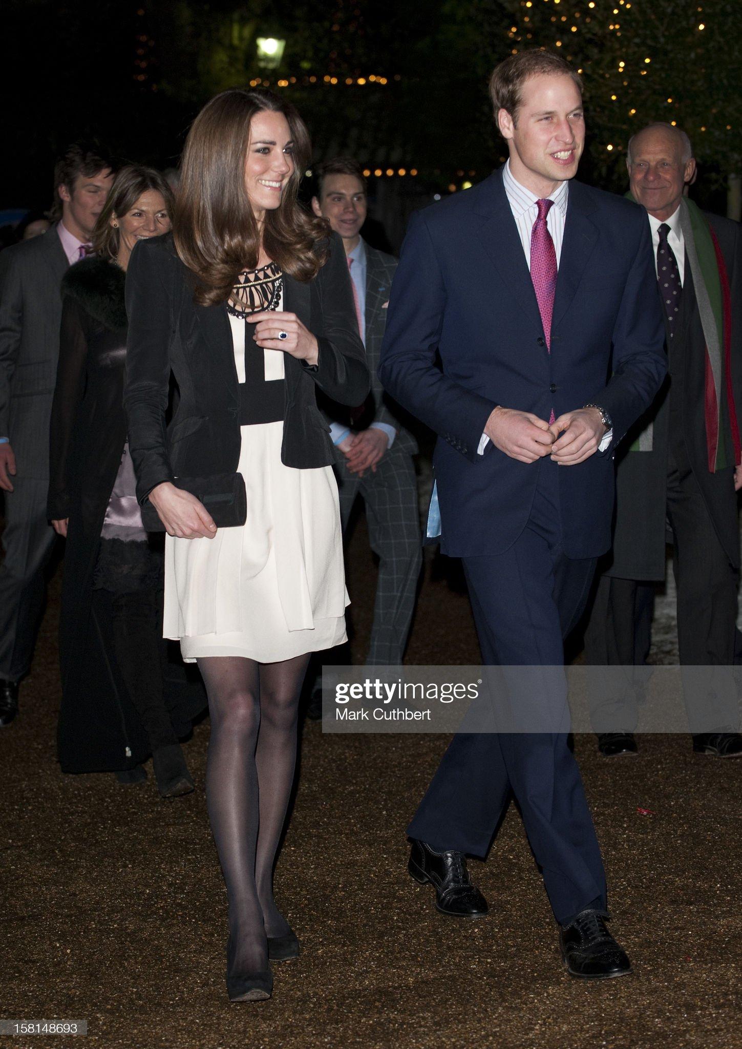 Вечерняя модница 2020 - Кэтрин, Герцогиня Кембриджская Teenage Cancer Trust Christmas Spectacular : News Photo