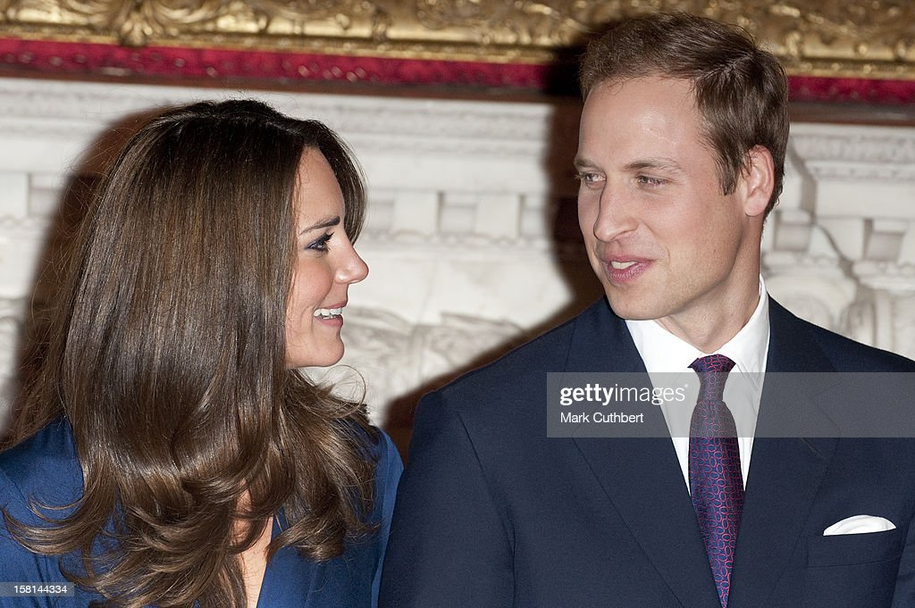 Royal Engagement : News Photo