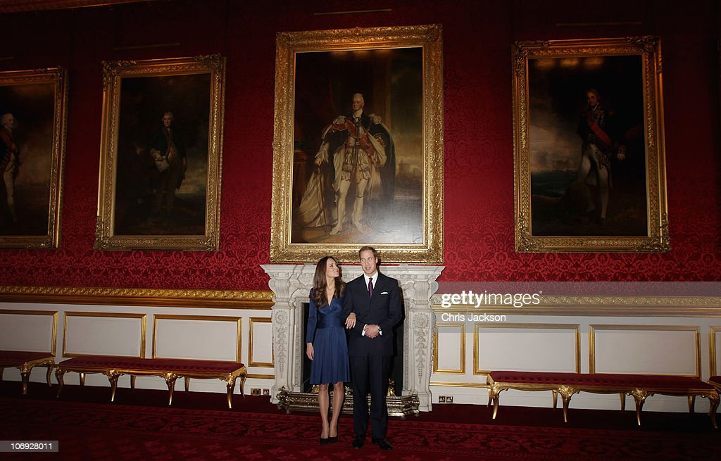 Clarence House Announce The Engagement Of Prince William To Kate Middleton : News Photo