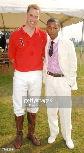 HRH Prince William and Pharrell Williams