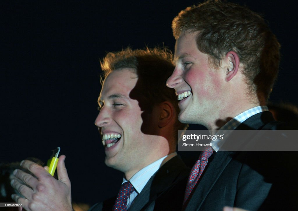 Prince William and Prince Harry during Prince's Trust 30th Live - Show at Tower of London in London, Great Britain.