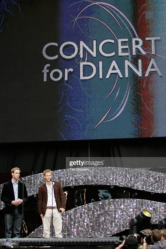 Concert For Diana - Performance : News Photo