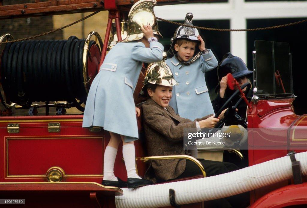 Harry and William : News Photo