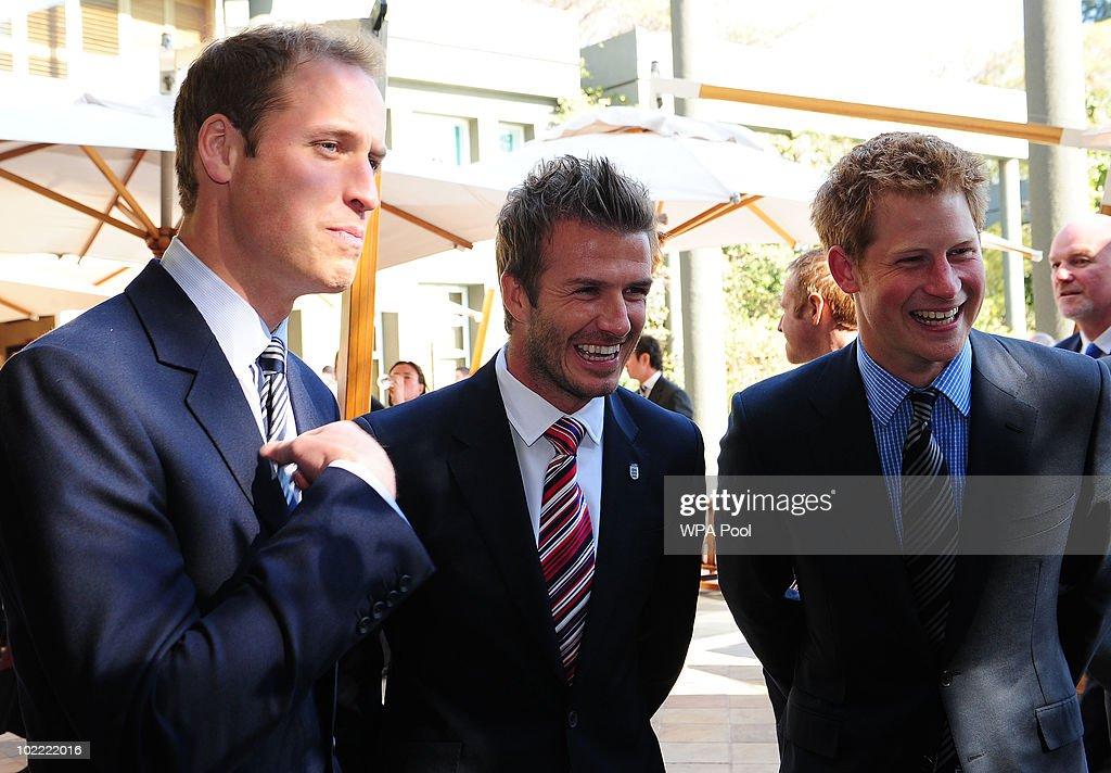 Prince william prince harry meet david beckham in 2018 world cup prince william and prince harry r smile with david beckham c at m4hsunfo