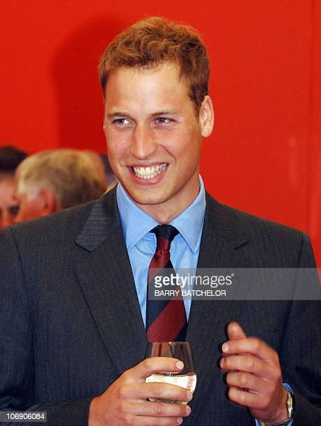 Prince William arrives at the FA Club alongside the Millennium Stadium in Cardiff on his first day as the new president of The Football Association...