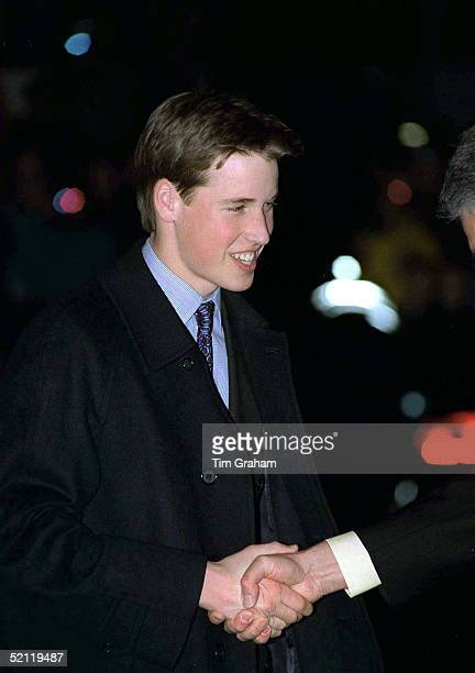 Prince William Arriving At The Waterfront Hotel In Vancouver Canada