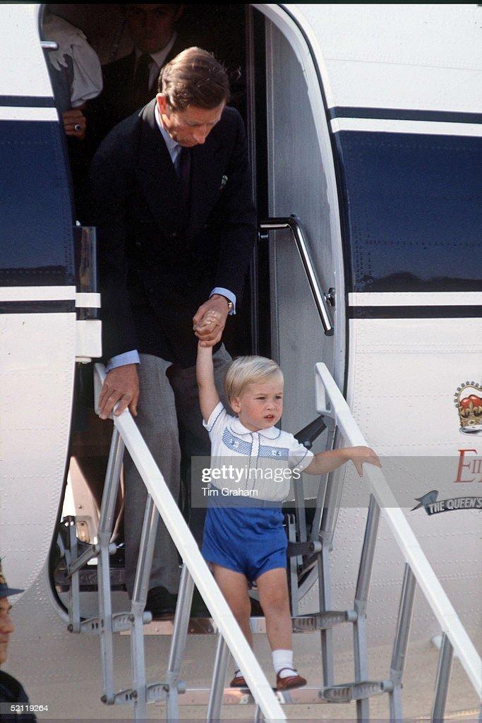 William And Charles : News Photo