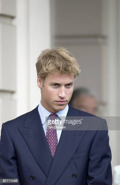 Prince William At Clarence House For His Greatgrandmother's 101st Birthday Portrait