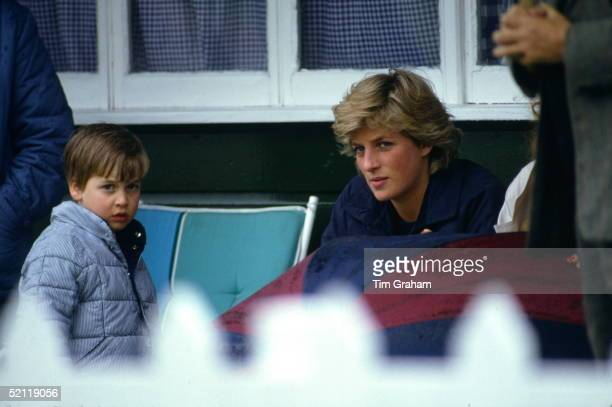 Prince William At Guards Polo Club Going To Be Comforted By His Mother Princess Diana