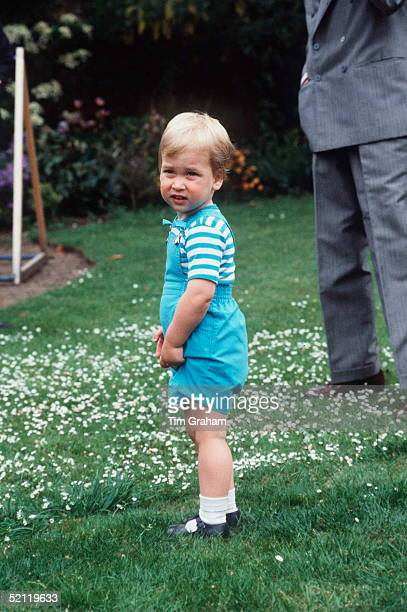 Prince William At Kensington Palace
