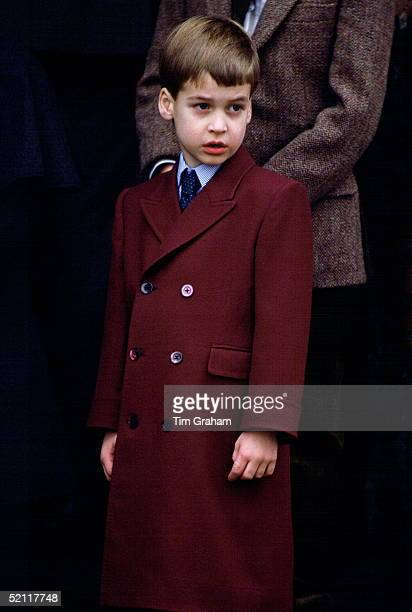 Prince William At Sandringham For A Christmas Day Service
