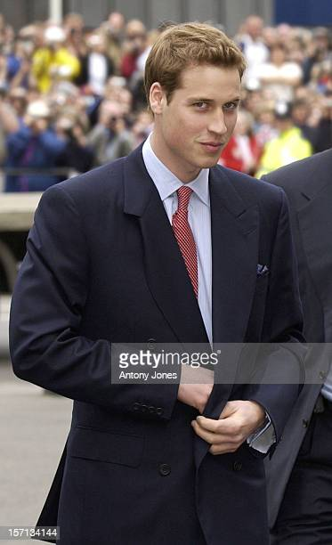 Prince William Attends A Service To Commemorate The 50Th Anniversary Of The Queen'S Coronation At London'S Westminster Abbey