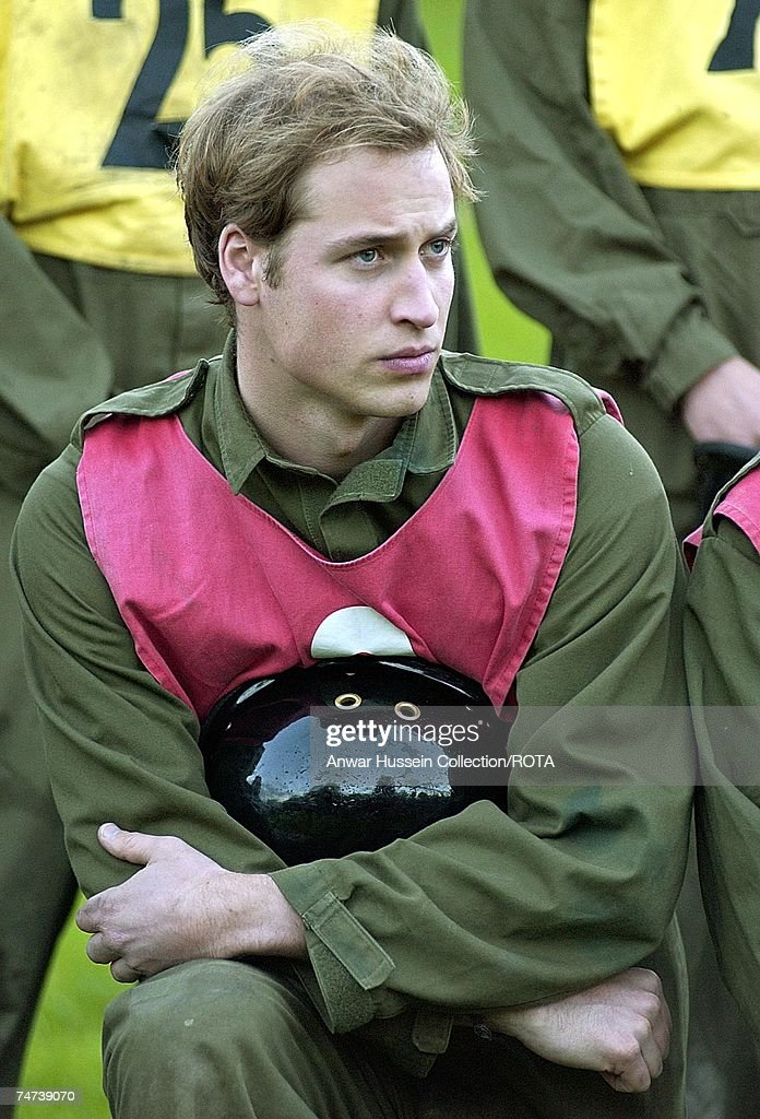 Prince William Joins The British Army - ROTA Collection : News Photo