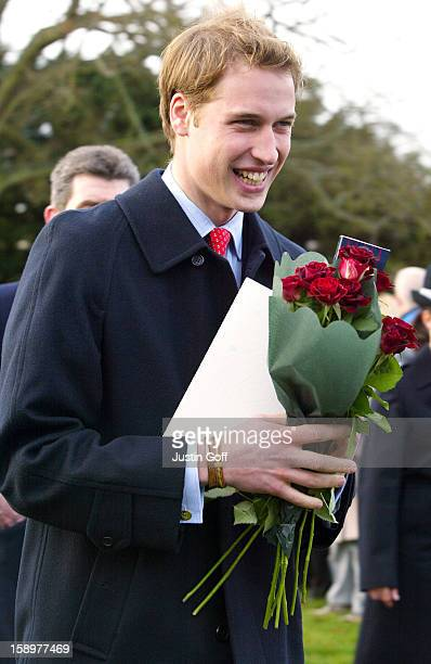 Prince William Attends The Christmas Day Service At Sandringham Church