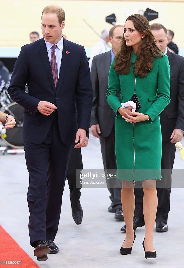 The Duke And Duchess Of Cambridge Tour Australia And New Zealand - Day 6 : Nachrichtenfoto
