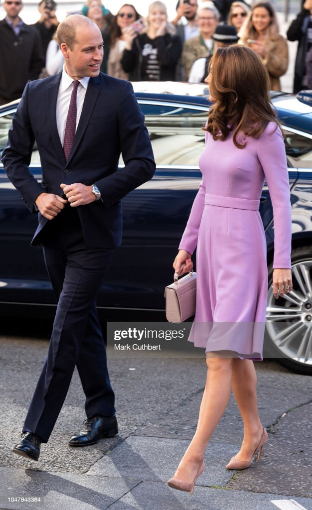 The Duke  & Duchess Of Cambridge Attend The Global Ministerial Mental Health Summit : News Photo