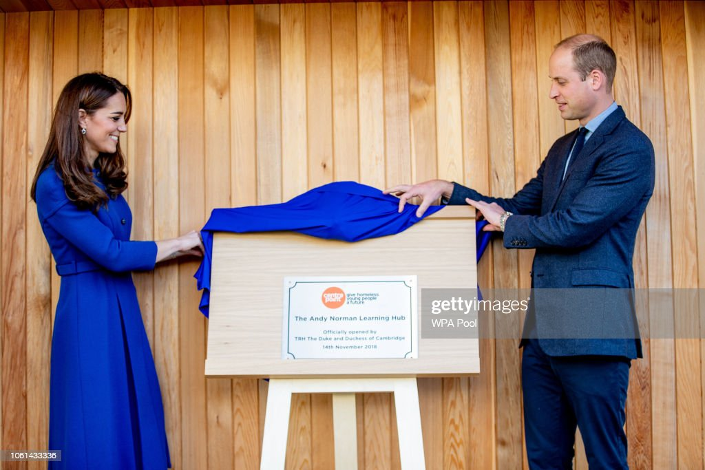 The Duke & Duchess Of Cambridge Visit South Yorkshire : News Photo