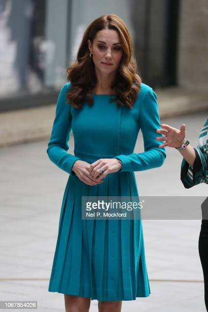 Prince William Duke of Cambridge and Catherine Duchess of Cambridge visit BBC Broadcasting House on November 15 2018 in London England