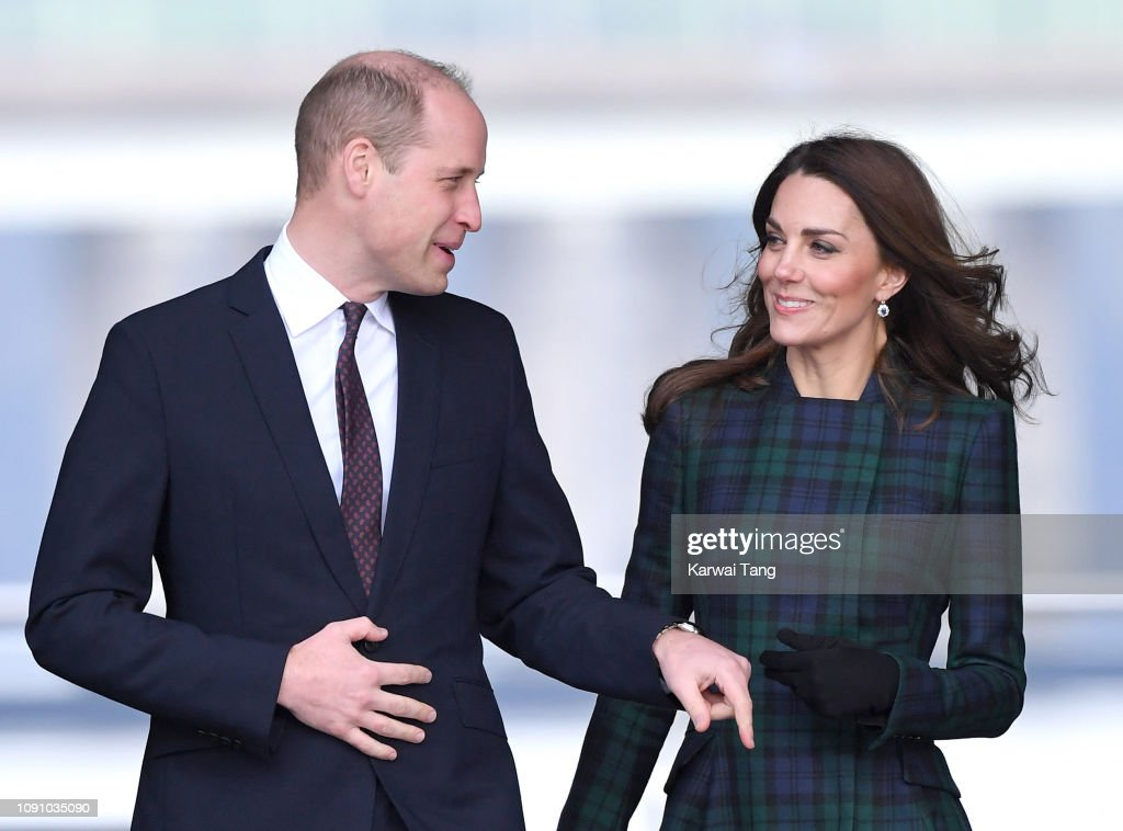 The Duke And Duchess Of Cambridge Visit Dundee : News Photo