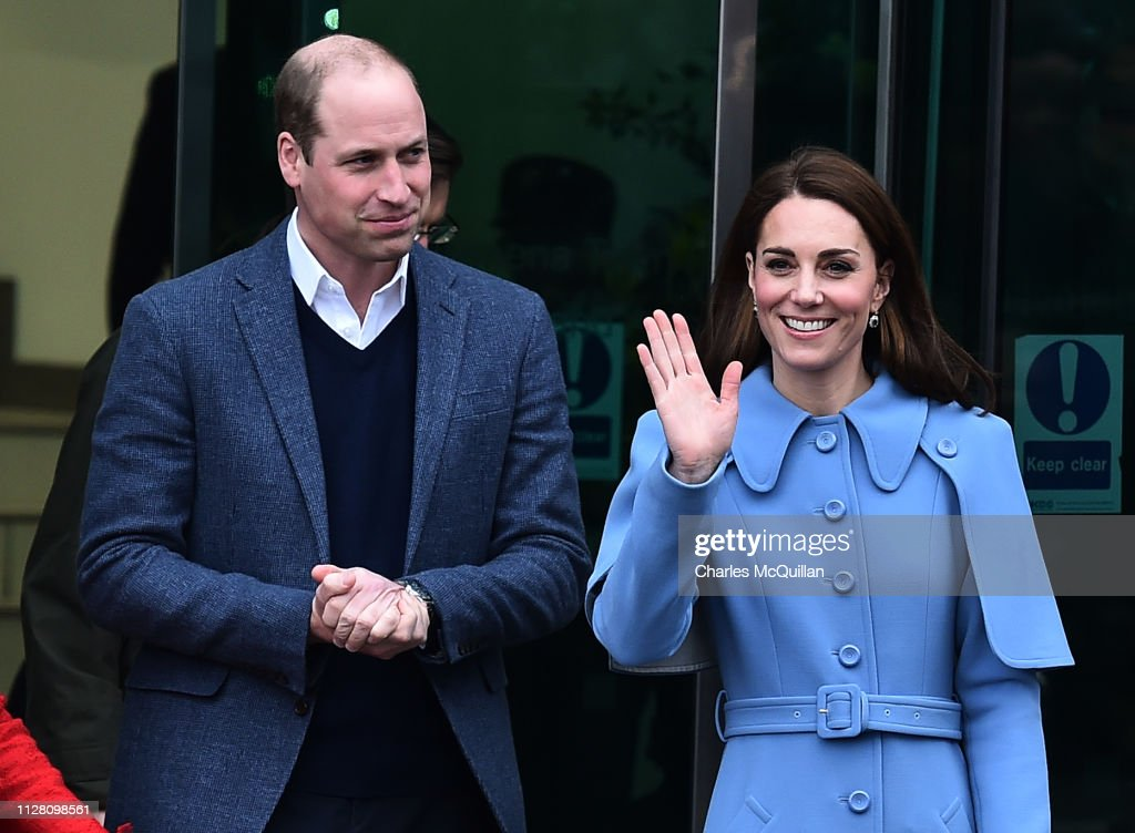 Duke And Duchess Of Cambridge Visit Northern Ireland - Day Two : News Photo