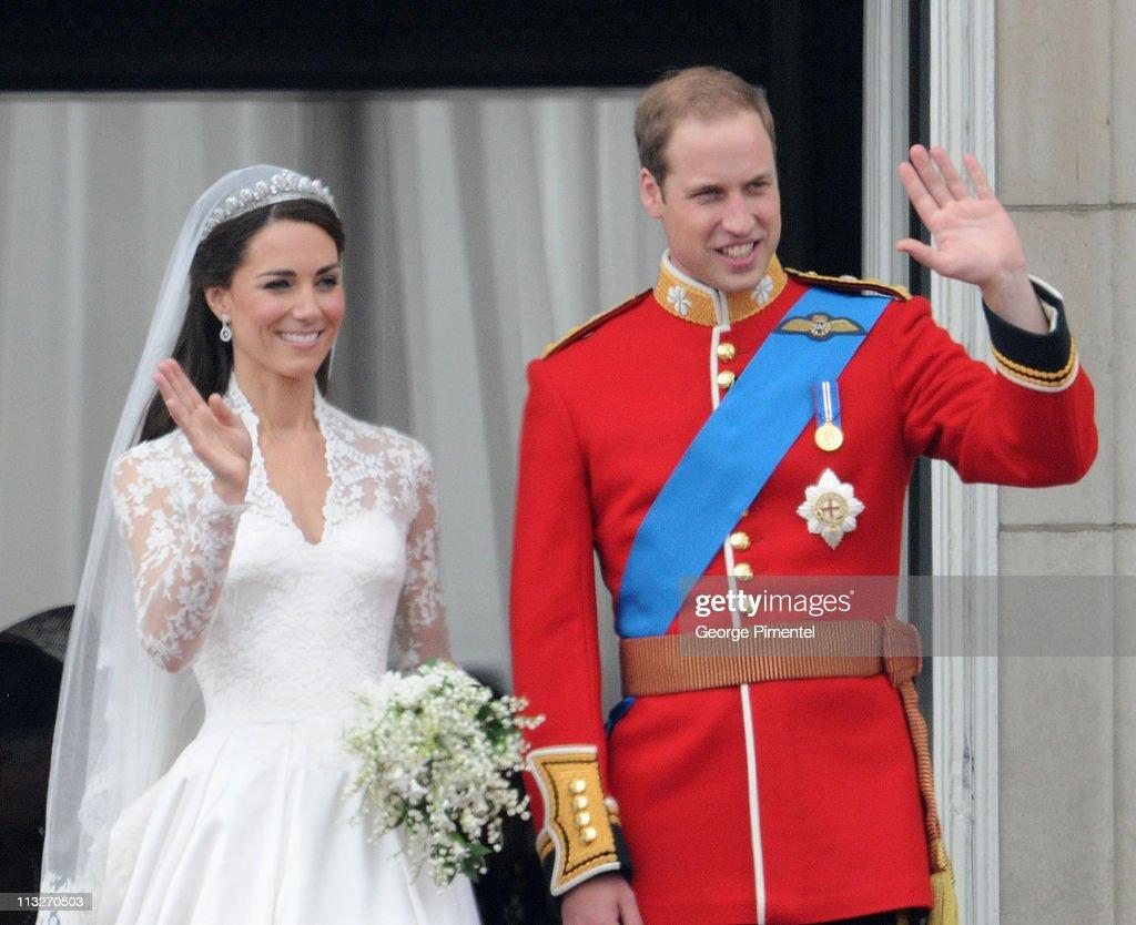 The Wedding of Prince William with Catherine Middleton - Buckingham ...