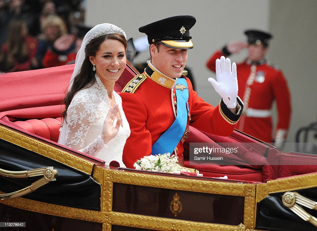 The Wedding of Prince William with Catherine Middleton - Procession : ニュース写真