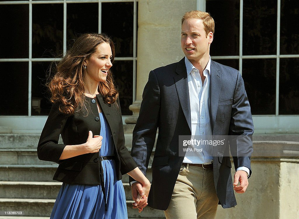 Prince William, Duke of Cambridge and Catherine, Duchess of Cambridge walk hand in hand from Buckingham Palace the day after their wedding to a waiting helicopter as they leave for a secret honeymoon location, on April 30, 2011 in London, England. The marriage of Prince William and Catherine Middleton was led by the Archbishop of Canterbury and was attended by 1900 guests, including foreign Royal family members and heads of state. Thousands of well-wishers from around the world have also flocked to London to witness the spectacle and pageantry of the Royal Wedding.