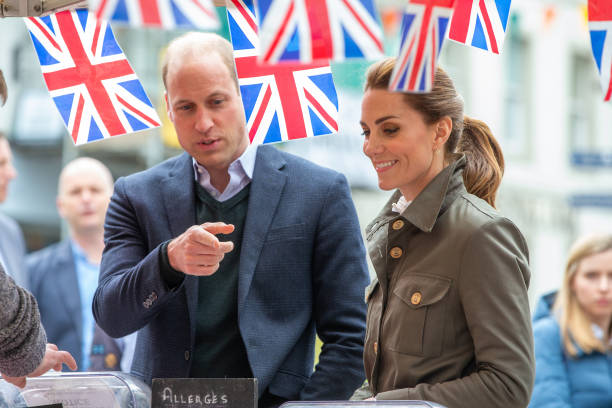 GBR: The Duke And Duchess Of Cambridge Visit Cumbria