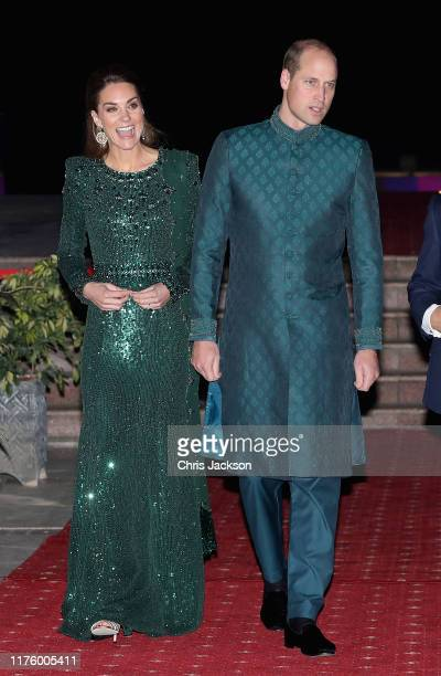 Prince William, Duke of Cambridge and Catherine, Duchess of Cambridge attend a special reception hosted by the British High Commissioner Thomas Drew,...