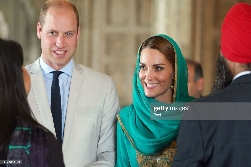 The Duke And Duchess Of Cambridge Visit Lahore : Foto jornalística