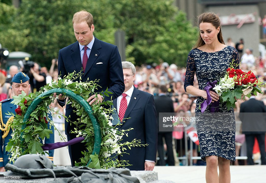 The Duke And Duchess Of Cambridge North American Royal Visit - Day 1 : News Photo