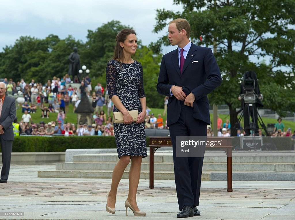 The Duke And Duchess Of Cambridge Canadian Tour - Day 1 : ニュース写真