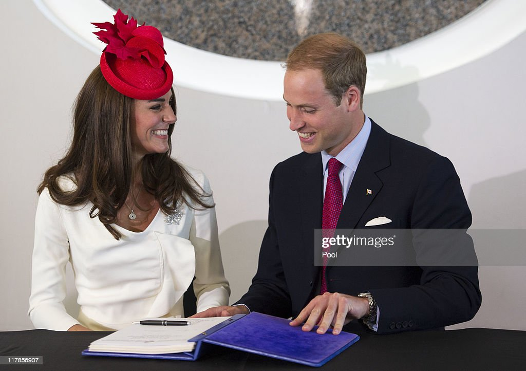 The Duke And Duchess Of Cambridge Canadian Tour - Day 2 : News Photo