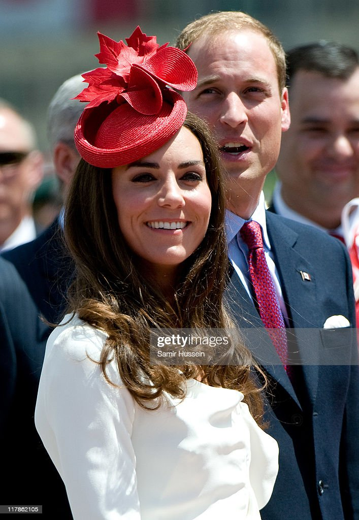 Prince William, Duke of Cambridge and Catherine, Duchess of Cambridge attend Canada Day Celebrations at Parliament Hill on day 2 of the Royal Couple's North American Tour on July 1, 2011 in Ottawa, Canada.