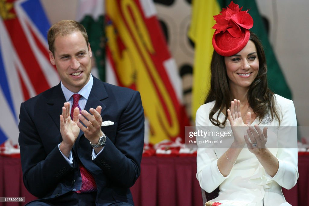 Prince William, Duke of Cambridge and Catherine, Duchess of Cambridge visit the Canadian Museum of Civilization to attend a citizenship ceremony on July 1, 2011 in Gatineau, Canada.