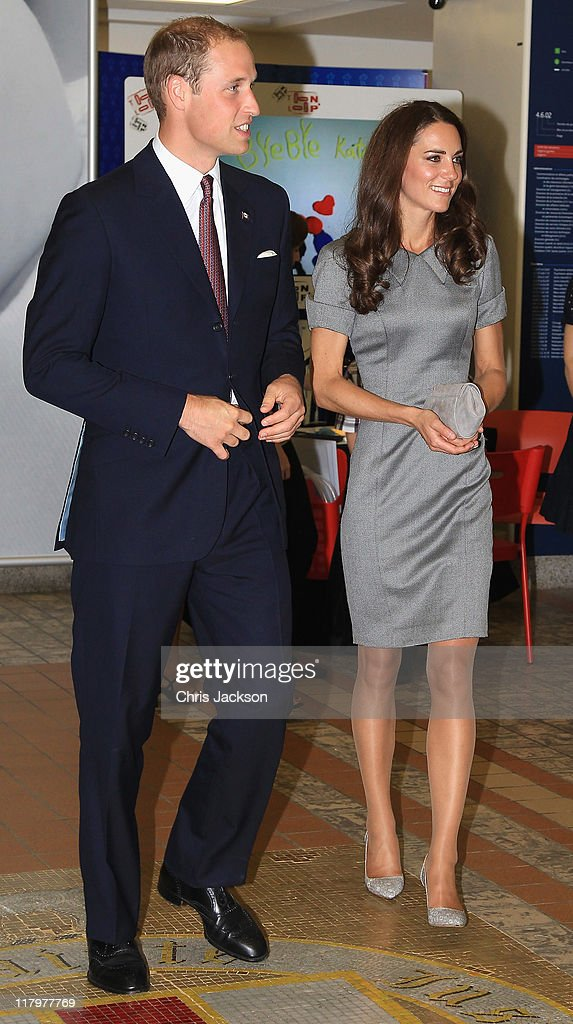 The Duke And Duchess Of Cambridge Canadian Tour - Day 3 : News Photo