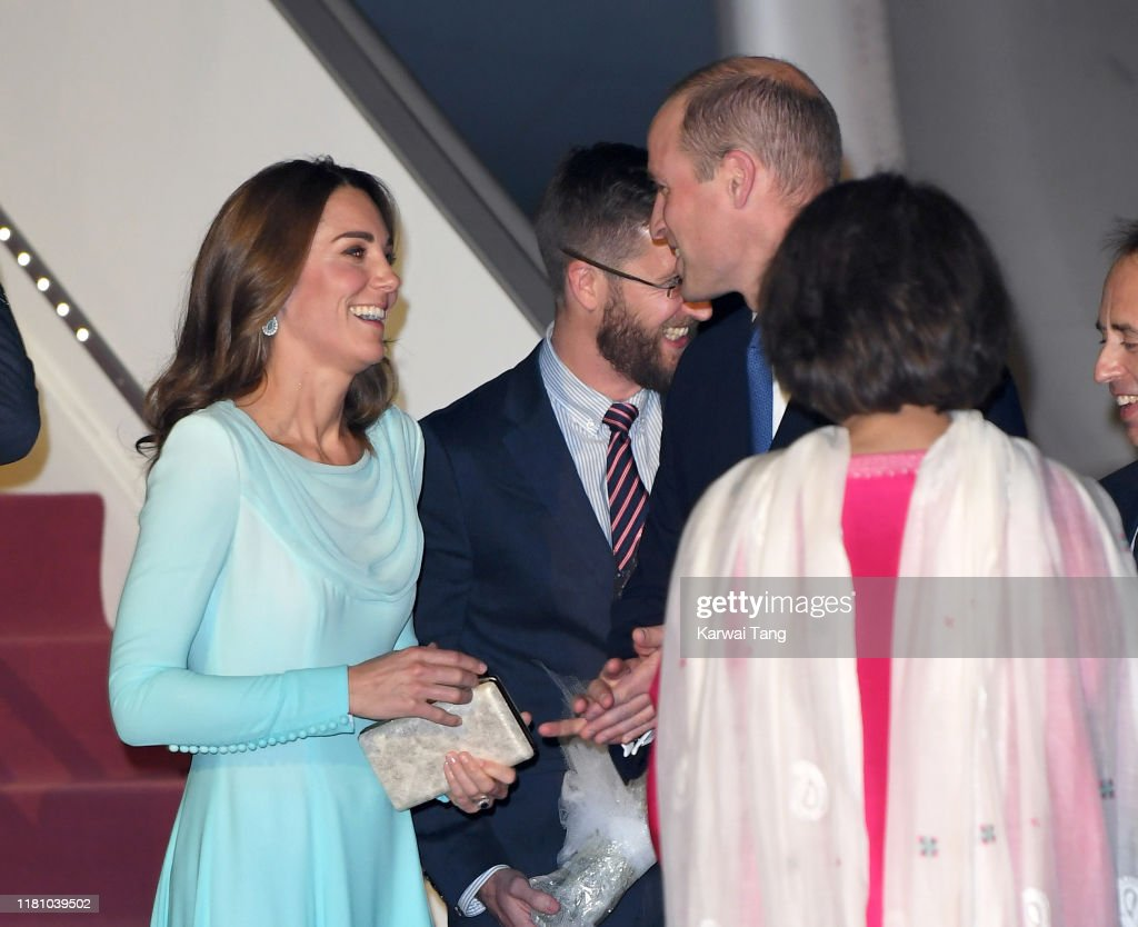 The Duke And Duchess Of Cambridge Visit Islamabad - Day One : News Photo
