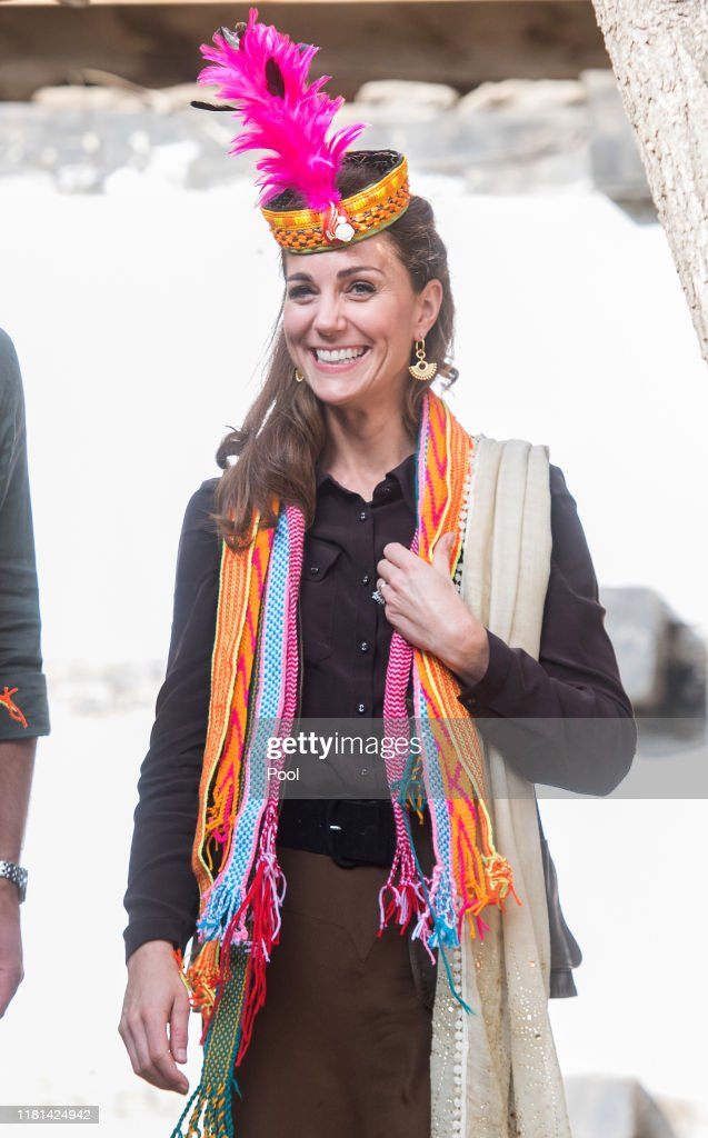 The Duke And Duchess Of Cambridge Visit The North Of Pakistan : ニュース写真