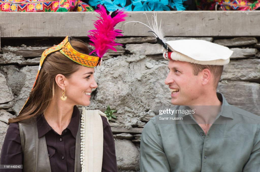 The Duke And Duchess Of Cambridge Visit The North Of Pakistan : Nachrichtenfoto