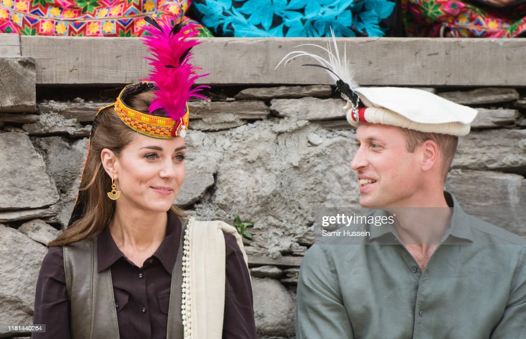 The Duke And Duchess Of Cambridge Visit The North Of Pakistan : News Photo