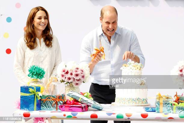 Prince William, Duke of Cambridge and Catherine, Duchess of Cambridge visit SOS Children's village during their royal tour of Pakistan on October 17,...