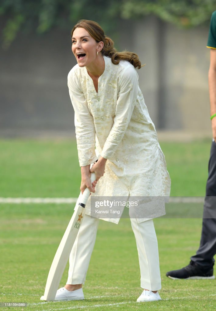 The Duke And Duchess Of Cambridge Visit Lahore : ニュース写真