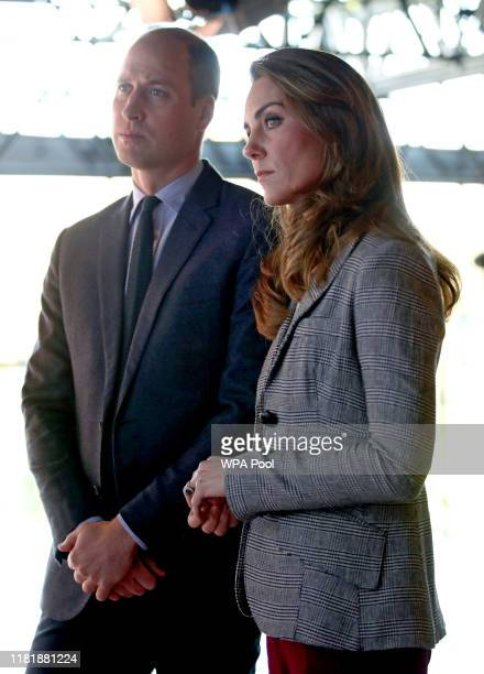 Prince William, Duke of Cambridge and Catherine, Duchess of Cambridge attend Shout's Crisis Volunteer celebration event at Troubadour White City...