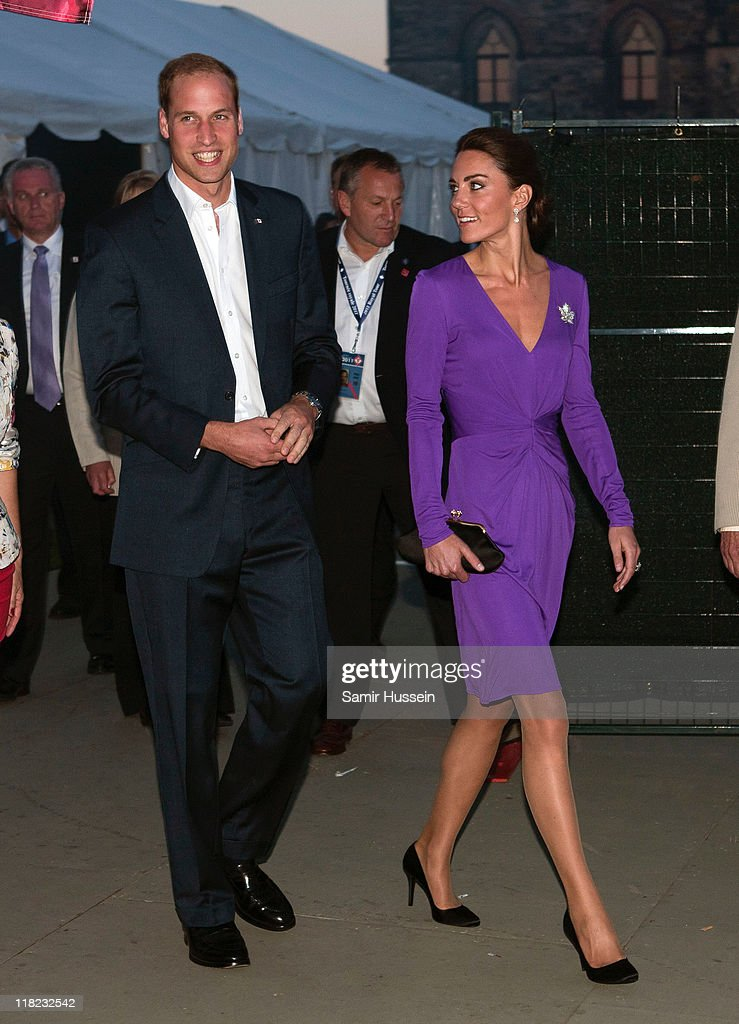 The Duke And Duchess Of Cambridge North American Royal Visit - Day 2 : News Photo