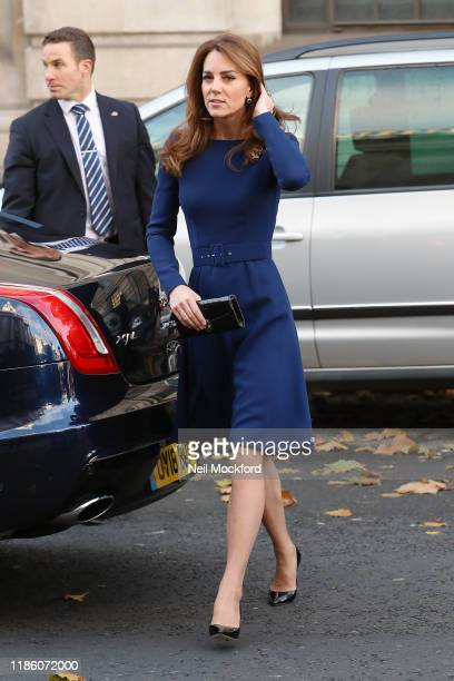 Prince William Duke of Cambridge and Catherine Duchess of Cambridge attend the launch of the National Emergencies Trust at St MartinintheFields on...