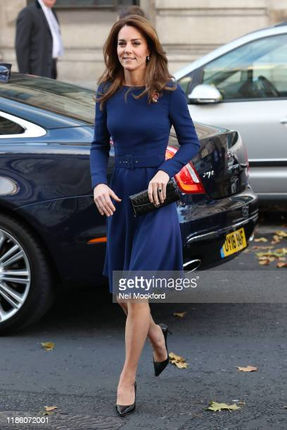Prince William, Duke of Cambridge and Catherine, Duchess of Cambridge attend the launch of the National Emergencies Trust at St Martin-in-the-Fields...
