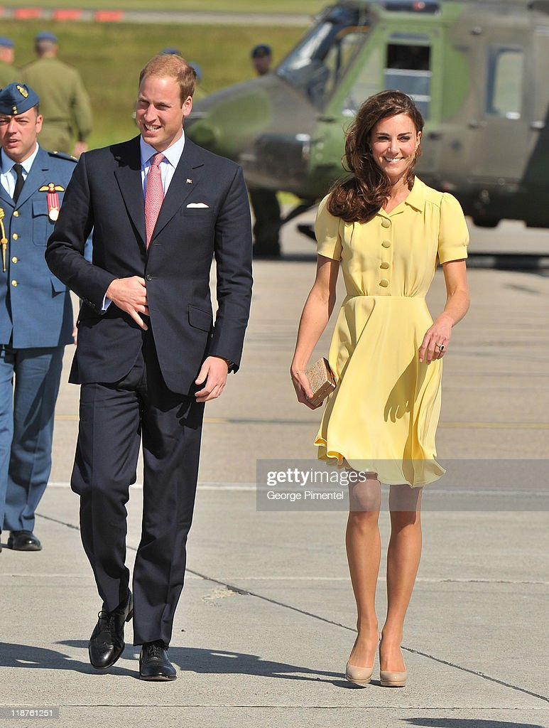 The Duke And Duchess Of Cambridge North American Royal Visit - Day 8 : ニュース写真