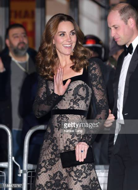 Prince William, Duke of Cambridge and Catherine, Duchess of Cambridge attend the Royal Variety Performance at the London Palladium on November 18,...